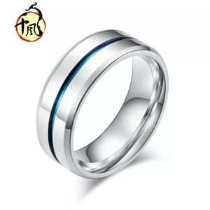 Stainless Steel Titanium Band Ring Size 13